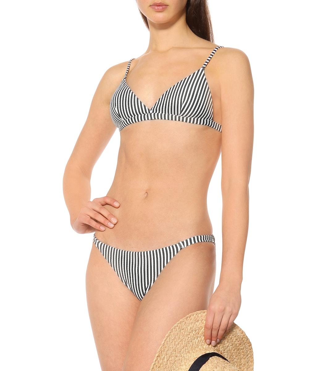 816bd5341f5ce Striped Bikini Bottoms - Asceno | mytheresa