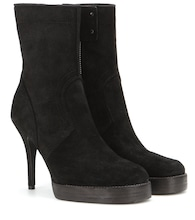 Classic Stiletto suede boots