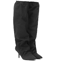 Nylon knee-high boots (SEASON 8)