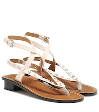Exclusive to Mytheresa – Jings embellished leather sandals