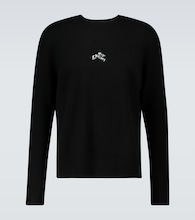 Refracted logo cashmere sweater