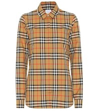Vintage Check cotton shirt