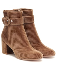 Lucas corduroy ankle boots