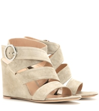 Rylee suede wedge sandals