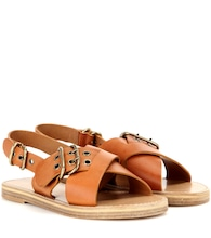 Jaden leather sandals