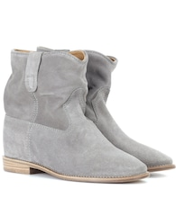 Exclusive to Mytheresa – Crisi suede ankle boots