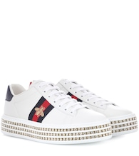 Ace leather platform sneakers
