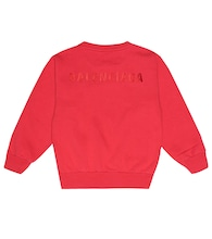 Logo cotton-blend sweatshirt