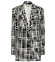 Charismatic Check wool-blend blazer
