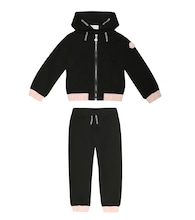 Stretch-jersey tracksuit