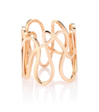 White Noise 18kt rose gold ring