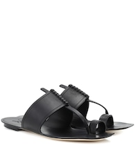 Saba leather sandals