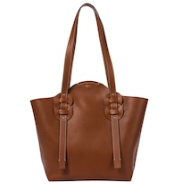 Shopper Darryl Medium aus Leder