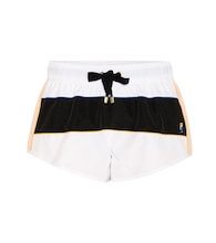 Cuban Missile striped shorts