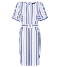 Naxos striped cotton dress