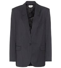 Verix checked wool blazer