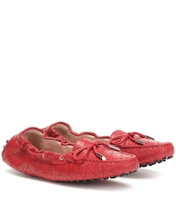 Exclusive to Mytheresa – Gommino leather moccasins