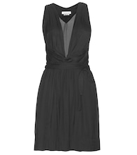 Bazin draped dress
