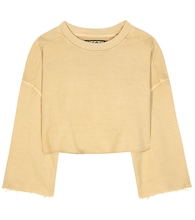 Cropped cotton sweater (SEASON 1)