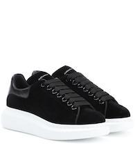 Velvet sneakers Alexander McQueen DZSft1b7i