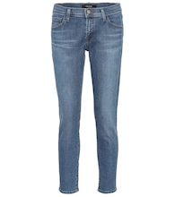 Sadey mid-rise straight jeans
