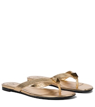 Valentino Garavani Roman Stud leather thong sandals