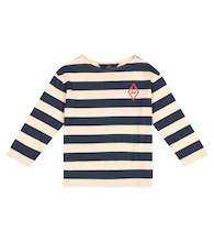 Anteater striped cotton-jersey T-shirt