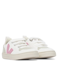 V-10 faux leather sneakers