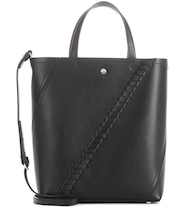 Hex Mini leather tote