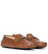 Gommino Double T leather loafers