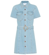 Mora denim minidress