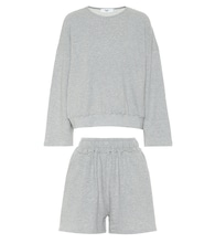 Jaimie sweatshirt and shorts set