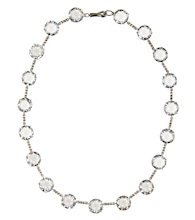 Cubic zirconia-embellished necklace