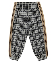 GG cotton-blend trackpants