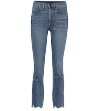 W3 Authentic cropped straight jeans