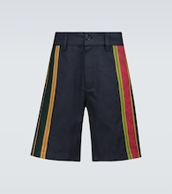 Majdalawi striped shorts