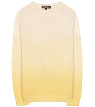 Cashmere, linen and silk sweater