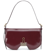 Mirror Swiss leather shoulder bag