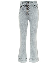 Ellis high-rise flared jeans