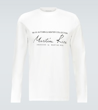 Logo printed long-sleeved T-shirt