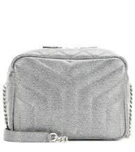 Classic Small Loulou Monogram metallic leather bag