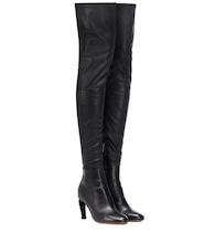 Melise over-the-knee leather boots