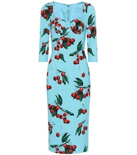 Exclusive to Mytheresa – cherry printed midi dress