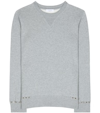 Rockstud Untitled cotton-blend sweater