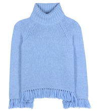 Jennifer fringed turtleneck sweater