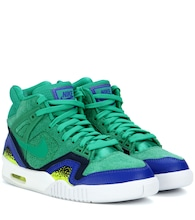Nike Air Tech Challenge II suede sneakers
