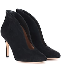 Vamp 85 suede ankle boots