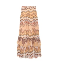 Exclusive to mytheresa.com – printed silk-crepon skirt