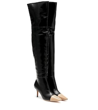 Stefanie over-the-knee leather boots