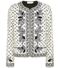 Tilda embroidered cotton jacket